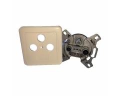 ORS 03, 3-Loch SAT-Antennendose für Sternstruktur, Frequenzbereich 40 - 2400 MHz