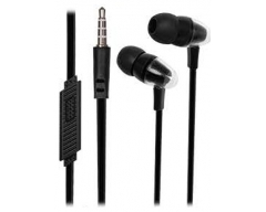 XX.Y PIXEL KT13 schwarz, In-Ear-Kopfhörer mit Mikrofon