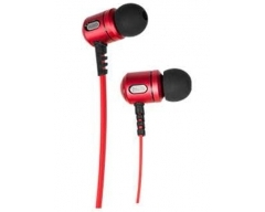 XX.Y RYTMIC KT23 rot, In-Ear-Kopfhörer mit Mikrofon und Lautstärkeregelung