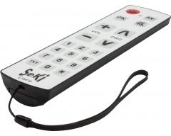 SeKi Care, Universalfernbedienung mit abwaschbarer Folientastatur