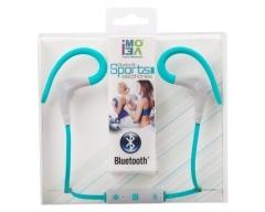 iMOVE SH01 blau, Sport-Ohrhörer mit Bluetooth, Mikrofon, Hinweis: vor Gebrauch 3-4h aufladen