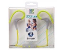 iMOVE SH01 grün, Sport-Ohrhörer mit Bluetooth, Mikrofon, Hinweis: vor Gebrauch 3-4h aufladen
