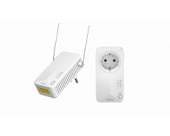 POWERLINE WLAN 500 KIT, 2x WiFI / Powerline Adapter HomePlug AV2 mit bis zu 500 Mbit/s.