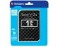 "Verbatim - Festplatte 1TB, USB 3.0 2,5"", schwarz, Store ´n´ Go, Gen 2, 3D Optik, Software, Retail Blister"