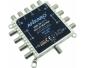 ANKARO eMS 58 RPQ, Multischalter 5/8, Alu-Druckguss, nur 80x80x20mm, Receivergespeist